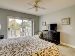 Master Bedroom with Private Balcony at 2512 Windsor II