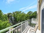 Private Balcony off Master Bedroom at 2512 Windsor II