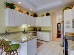 Open Kitchen with Small Breakfast Bar at 25 Heath Drive