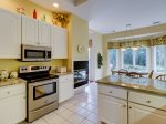 Fully Equipped Kitchen at 25 Heath Drive