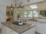 Kitchen with Ocean Views at 26 Duck Hawk