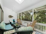 Large Screened Porch at 26 West Beach Lagoon