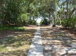 Paved Beach Access Path from 28 Canvasback