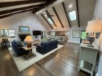 Open Floor Plan on the Main Floor at 28 Surf Scoter