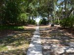 Path to the beach from 2 Green Heron