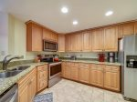 301 Windsor Place in Palmetto Dunes has a fully equipped kitchen with granite countertops