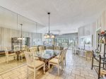 Dining Area with Ocean Views at 302 Barrington Arms