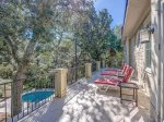Shared Balcony Overlooking Pool at 30 Canvasback