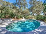 Pool and Spa at 30 Canvasback