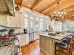 Large, Open Kitchen at 30 Canvasback