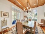 Formal Dining Room with seating for 10 at 30 Canvasback