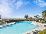 One of Two Ocean Front Pools at Sea Crest
