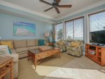 Living Room with Ocean Views at 3104 Sea Crest