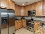 Fully Equipped Kitchen at 3104 Sea Crest