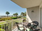 Balcony with Amazing Views at 3105 Sea Crest
