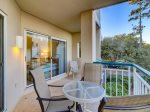 Balcony with Partial Ocean Views at 3106 Windsor Court South