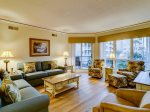 Spacious Living Room with Balcony Access at 3106 Windsor II