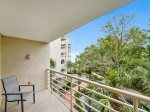 Private Balcony off Guest Bedroom with Partial Ocean Views at 3228 Villamare