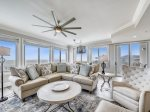 3301 Sea Crest is an end villa making it larger and more open than other Sea Crest condos