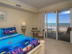 Guest Bedroom with Private Balcony at 3403 SeaCrest