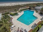 Beautiful Views of Beach and Pool from 3403 Sea Crest