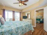 Master Bedroom with Ocean Views at 3403 Windsor Court South