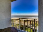 Balcony View From King Bedroom at 3404 Sea Crest