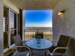 Main Balcony with Direct Ocean Views at 3404 SeaCrest