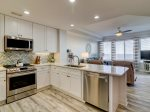 Kitchen with Ocean Views at 3404 Sea Crest