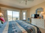 Guest Bedroom with Ocean Views at 3409 Windsor Court South