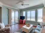 Living Room with Direct Ocean Views at 3502 Sea Crest