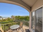 Balcony with Ocean Views at 3502 Windsor Court South