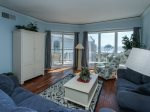 Living Room with Ocean Views at 3503 Windsor Court South