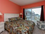 Master Bedroom with Ocean View at 3503 Windsor Court South