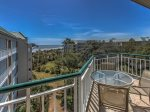 Balcony with Ocean Views at 3503 Windsor Court South