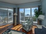 Enjoy Beautiful Ocean Views from the Living Room at 3503 Windsor Court South