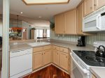 Kitchen Opens to Dining Area and Living Room at 3503 Windsor Court South