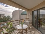 5th Floor Balcony with Ocean Views at 3521 Villamare