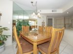 Dining Area with Seating for Six at 3521 Villamare