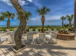 Ocean Front Sundeck at Villamare on Hilton Head Island