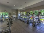 Villamare Fitness Center is available to all guests