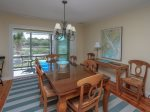 Dining Area with Water Views at 38 Lands End Road