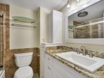 Guest Bathroom with Shower/Tub Combo at 409 Shorewood