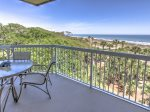Balcony with Direct Ocean Views at 412 Barrington Court