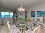 Dining Area with Ocean Views at 412 Barrington Court