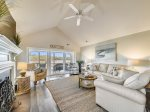 42 Lands End Road - Fantastic Marsh View 4 BR Villa Near South Beach in Sea Pines on Hilton Head Island