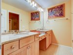 Master Bathroom with Double Vanity at 43 Lands End Road
