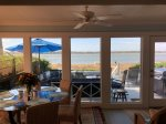 Sun Porch with Water Views at 43 Lands End Road