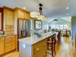 Fully Equipped Kitchen with Stainless Steel Appliances at 43 Lands End