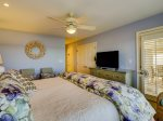Master Bedroom with Access to Carolina Room at 43 Lands End